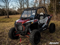Polaris RZR XP Turbo Vented Scratch Resistant Full Windshield