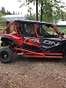 Honda Talon 4 Seater Tree Kickers - Nerf Bars XL's
